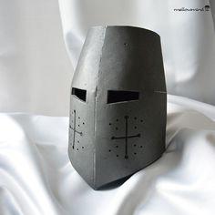 Knight Helmet Template for EVA foam version por mellowmindCosplay