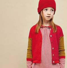 Macarons fall/winter  2014 kids fashion at Pitti Bimbo 78th Edition