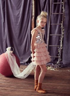 Tutu Du Monde Tutu Du Dazzle Me Pretty Tutu Dress in Blush
