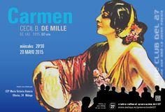 Publicidad Generación del 27. Carmen, de Cecil B. de Mille.
