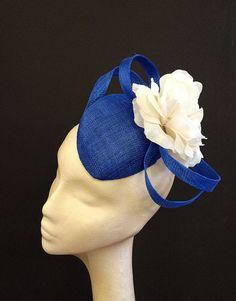 Royal Blue Flower Percher