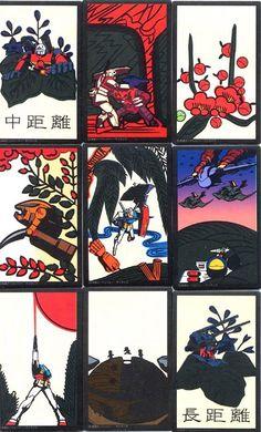 ガンダム花札 Gundam hanafuda cards