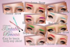.tsg. Tintable Brows @ Cosmetic Fair Fall | Flickr - Photo Sharing!