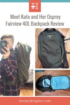 7d6b0bee6aa7 Meet Kate and Her Osprey Fairview 40L Travel Backpack Review