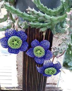 Succulents Garden, Indoor Plants, Wind Chimes, Crochet Earrings, Outdoor Decor, Ideas, God, Garden, Rare Succulents