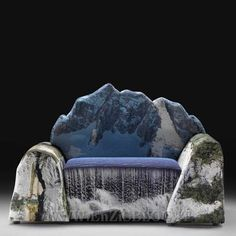 #Divano invernale stravagante  #arredamento #design