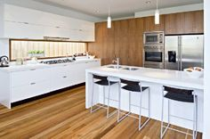 For a new kitchen nothing but the best is what we want, then AOK kitchen is the best kitchen manufacturer in Melbourne. It's the one stop shop for all your designing, manufacturing and installation needs. They take guarantee for their work for five years. http://www.aokkitchens.com.au/