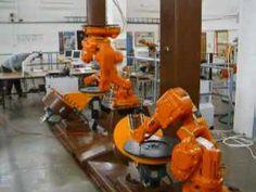 ABB IRB140 robots - demo