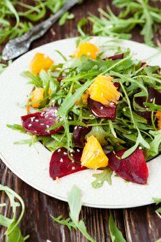 Blood Orange Salad With Beets And Arugula…