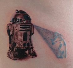 r2d2 tattoo. One of the more elaborate ones.