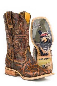 Tin Haul Stag Cowboy Boots Urban Western Wear