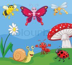 Stock vector of 'Vector illustration of Cartoon small animal'