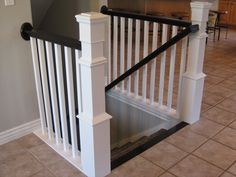 TDA decorating and design: DIY Stair Banister Tutorial - Part 1 ...