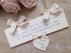 Personalised Grandma  Gift Handmade Wooden Sign Birthday  Christmas Gift Sign