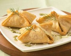 Salmon Pastries with Dill Pesto | The Daily Meal