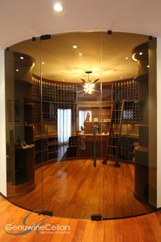 modern wine cellar retail store design una casa espectacular pinterest cave vin et maisons contemporaines - Cave A Vin Design Contemporain