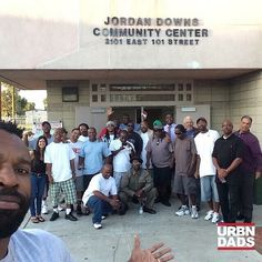 I present to you #ProjectFathethood a organization  made up of Fathers in the Jordan Down Projects helping the youth and bringing the community together.  I'm down with the movement!!!! #Watts #ProjectFathethood #Thisisreallife #fightingtosavelives #blackfathers #blackdads #urbndads