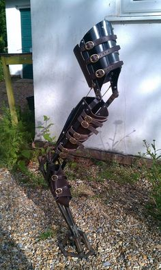 Mechanical articulated digileg by DragonArmoury