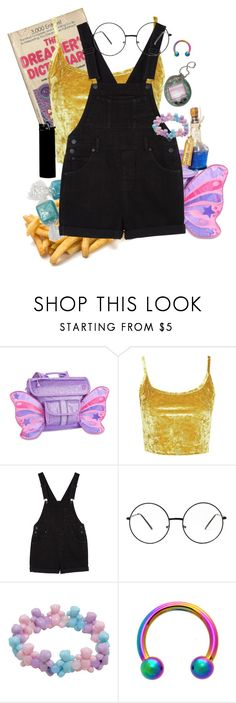 """""""now my life is sweet like cinnamon"""" by xxstar-childxx ❤ liked on Polyvore featuring Topshop, Hard Candy, Monki, WALL and Hot Topic"""