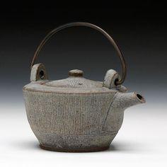 Schaller Gallery : Exhibition : Iron Variations - : Ernest Gentry : Teapot