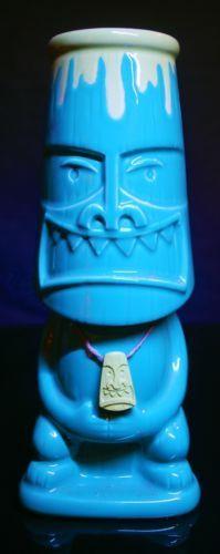 Shag Tiki Ekahi Vase Green Japan Limited Edition Josh Agle Tiki Mug US Seller | eBay