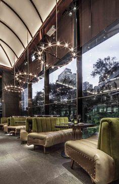 WAN INTERIORS Interiors, AMMO Restaurant + Bar, Hong Kong