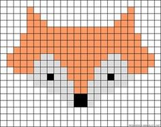 46 Ideas For Knitting Charts Fox Perler Beads Hama Beads Patterns, Beading Patterns, Loom Beading, Embroidery Patterns, Bracelet Patterns, Knitting Charts, Baby Knitting Patterns, Knitting Stitches, Knitting Ideas