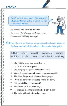Grade 5 Grammar Lesson 4 The phrase (4)