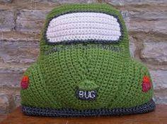 New vw beetle bug inspired cushion amigurumi beetle bug classic retro vintage car toy crochet pattern pdf Crochet Car, Crochet Cushions, Crochet Pillow, Cute Crochet, Crochet Crafts, Crochet Projects, Crochet Ideas, Volkswagen Bus, Pillow Pals