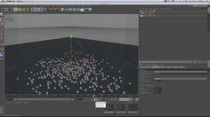 Heather Davies, MAXON UK's software trainer, demonstrates a couple of different techniques in CINEMA 4D, including how to use an Attractor to create a 'magnetic' ball that attracts objects, and how you can use a material as a light source.