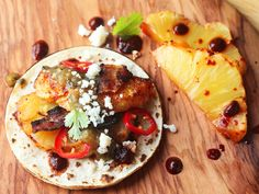 Flip the Script on Al Pastor With Bacon-Wrapped-Roasted-Pineapple Tacos
