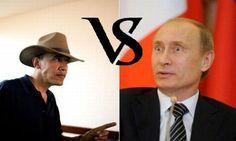 Putin Vs. Obama Cartoon   Putin vs Obama