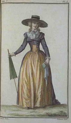 Magasin des Modes, March 1786.   Oh god.  This dress.  So glorious.