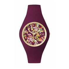 Ice Flower : montre fleurie par Ice Watch