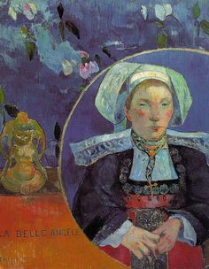 Paul Gauguin (France, 1848-1903) - La Belle Angèle, 1889, Musée d'Orsay