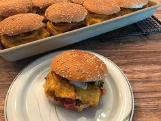 Burger-Platte auf dem Ofenzauberer von Pampered Chef® - Famous Last Words Healthy Meat Recipes, Burger Recipes, Beef Recipes, Easy Homemade Burgers, Quinoa, Beef Recipe Instant Pot, Roast Beef Sandwiches, Pampered Chef Recipes, Easy Summer Meals