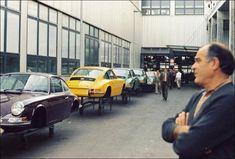 1971 Production line Porsche