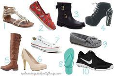 10 Shoes Every College Girl Needs // eyelinerwingsandprettythings