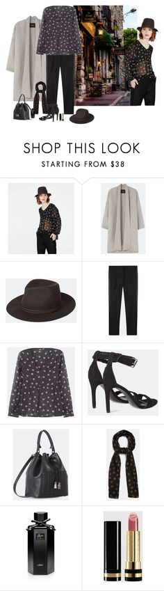"""""""Restaurant La Tour Antique, Antibes, France"""" by katiethomas-2 ❤ liked on Polyvore featuring Gucci"""