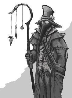 Plague Doctor by Solomon-Mordecai.deviantart.com on @DeviantArt