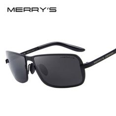 e0536cd4e02 MERRY S Design Men Classic CR-39 Sunglasses HD Polarized Sun glasses Luxury  Shades UV400 S