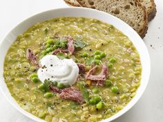 Slow-Cooker Split Pea Soup recipe from Food Network Kitchen via Food Network