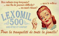 Lexomil 500 pour la tranquilité de toute la famille!