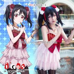 ICOS lovelive 】! Vector ze nicole nico wedding dress before awakening cos the spotb  Cosplay nico yazawa, taobao price: US$40.46, click the photo to buy this item via taobao agent