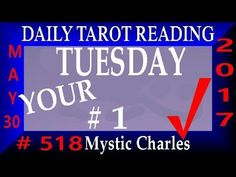 Daily Reading TUES May 30 SAME SPECIES FREE Tarot Card Reading. 1esp card today.