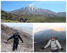 Navid Eshghi  made it happen by climbing Mount Damavand, the highest point in the Middle East. Navid was one of the runners up in our 2012 challenge.