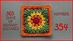 365 Days of Granny Squares Number 354