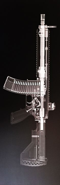 Xray'd HK416. Or California Compliant Ghost Gun. Stay frosty my friends -forFREEDOM