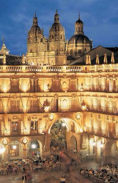 Salamanca Plaza Mayor Clerecía