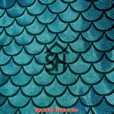 Turquoise on Black Large Fish Scale Mystique Lycra Fabric 4 way stretch Turquoise Holographic Foil Fish Scales on Black Nylon Spandex **Although Mermaid Costume Makeup, Mermaid Makeup, Mermaid Costumes, Mermaid Tears, Mermaid Scales, Holographic Foil, Hologram, Little Mermaid Play, Mermaid Fabric